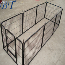 "Alibaba China - fully welded 1 3/8"" O.D. glavanized tubing frames 4 x 4 x 6 H Complete Kennel"