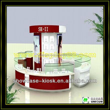3D MAX designed cosmetic kiosk for mall use is waiting for u