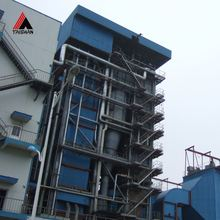 Industrial Biomass Fuel Hot Water Pellet Boiler For Rice Mill In Food Plant