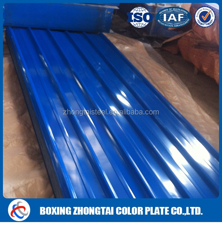corrugated color sheet roofing material with cheap price