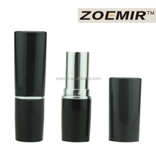 Hot sale makeup manufacturer private label matte black tube korea lipstick tube