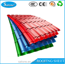 Hot Sale steel sheet roofing tile Color Steel Corrugated Roof Tile For House