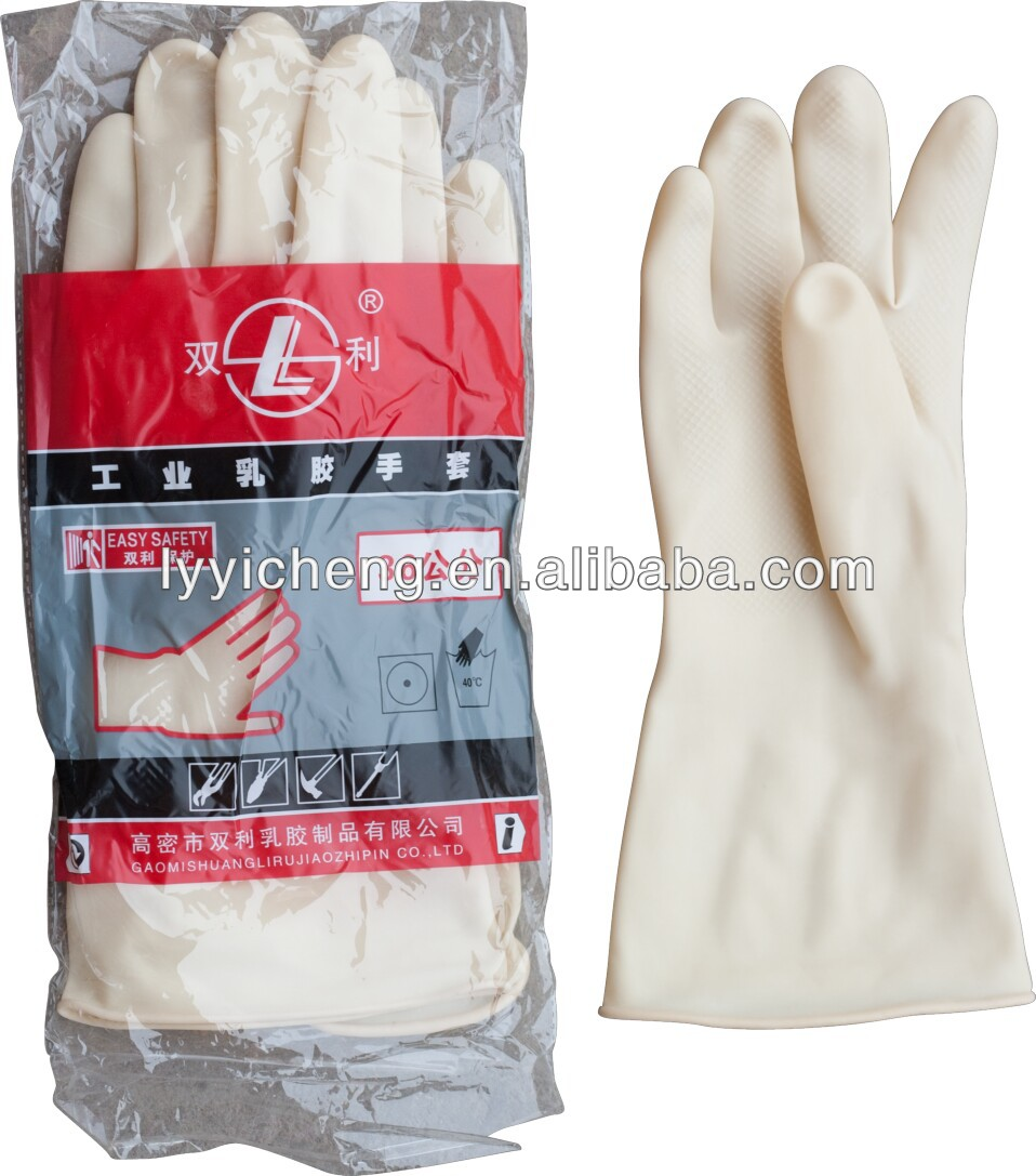 Industrial Latex Gloves,Natural latex working glove