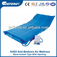 KA03 Wave-motion type with opening medical bed air mattress