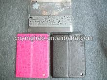 Updated special pu leather case book for iPad3