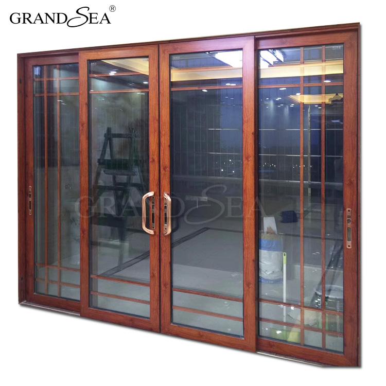 Interior Partition Bedroom Doors Design Aluminium Frosted Glass Door