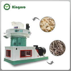 Biomass wood pellet machine SZLH560 With 1-1.5 t/h capacity
