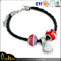 China factory wholesale cheap new fashion customized bracelets/ leather bracelets for women
