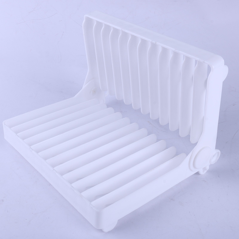 Adjustable dish rack ,H0T055 kitchen appliance rack , plastic tray dish rack