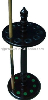Best selling billiard snooker cue rack, Standing rack for Pool cues, Billiard stick table