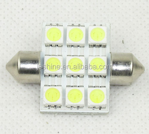 Wholesale White Chips Car LED Festoon Lamp Canbus Festoon Lighting