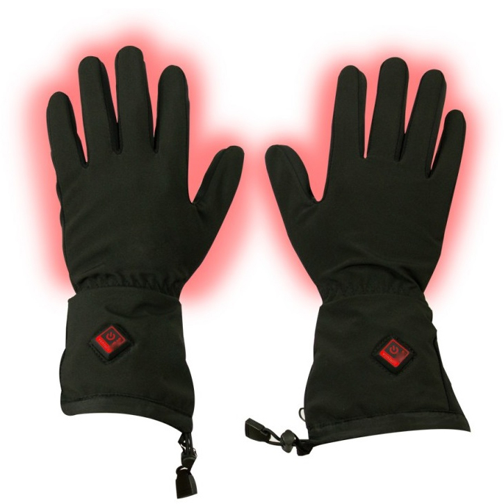 Mens Best Heated Ski Gloves Waterproof Heated Winter Gloves