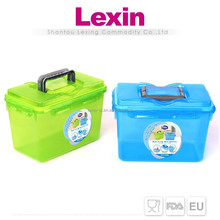 clear large plastic personalized food containers with lid