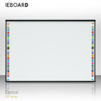 OT series IEBOARD four users touch optical interactive whiteboard, smart board