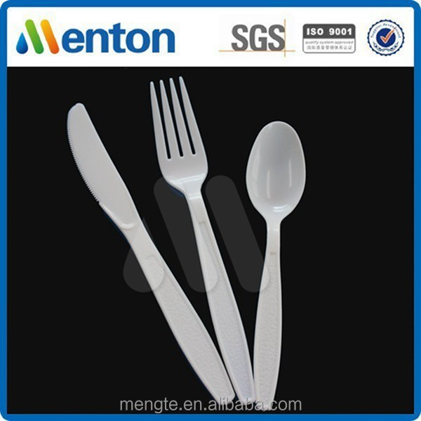 high quality heavy weight hotel plastic tablewares sets