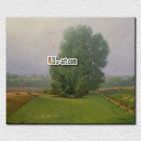 Modern canvas art scenery bedroom oil painting