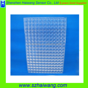 Glass Array Lens for Solar Energy Collector