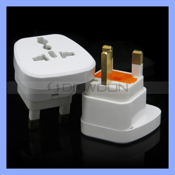 Multi Function Socket To British Standard Travel Plug Adaptor Universal Female Plug 250V 10A With Fuse 3 Pin UK Plug Adapter
