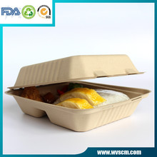 Stocked microwavable food disposable containers