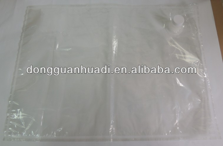1L,2L,3L,5L,10L,20L,22L,25L,50L,220L aseptic bib bag in box for red wine and oil,beverage with holder, valve, vitop