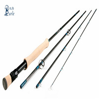 cheap wholesale rods and reel durable 3k carbon fiber tube 50mm fly fishing rod
