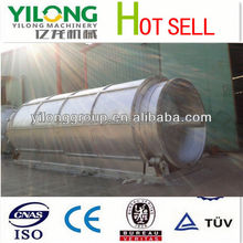Used Shredded Tires 5-12 tonsCapacity Pet Bottle Recycling Machine For Pyrolisis Tyre Recycling To Oil