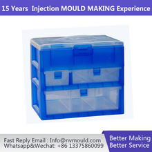 jewelry box mold transparent Plastic box drawer mould maker