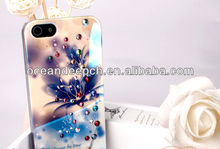 New arrival diamond supply phone case bling bling mobile phone case for iphone 5s