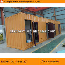 CE ISO9001 Standard Size 20ft 40ft Container home