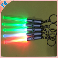 Mini stick Led keychain with customized logo