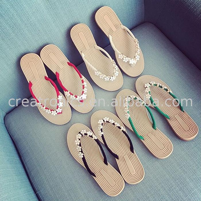 Stock wholesale price sandals shoes girls flip flops women