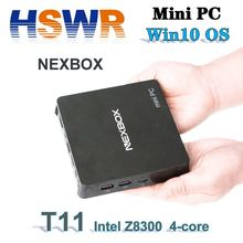 In stock Mini PC win 10 Deatop computer T11-Z8350 Mini PC box Z83 II 2GB 32GB Set top box with VESA Mounting Bracket