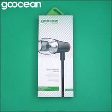 goocean High Quality Wholesale Custom Cheap phone accessories mobile headset with mic china supplier