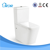 Ceramic two-piece bathroom toilet pot