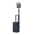 120W Work Lights and Emergency Triangle with LED Lights rechargeable led cree emergency Mobile Light Tower