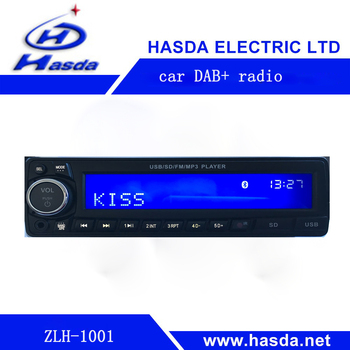 bluetooth dab car radio with usb/Aux in