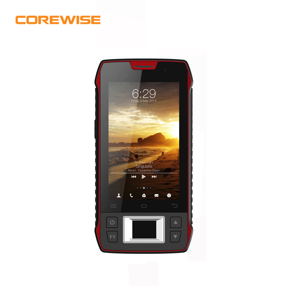 Rugged android mobile wifi phone with barcode <strong>scanner</strong>