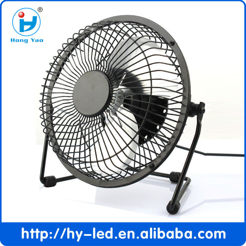 6 Inch DC5V 2.5W New Design USB Mini Fan Mini Portable Fan For Home Appliances