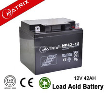 Low self discharge ups battery 12v 42ah