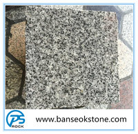 China natural light grey G655 granite on factory direct sale