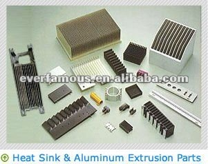 6063 T6 Custom Aluminum Extrusion heat sink led strip aluminum extrusion profile aluminum heat sink extrusion