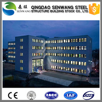 Light steel high rise steel structure shopping mall building