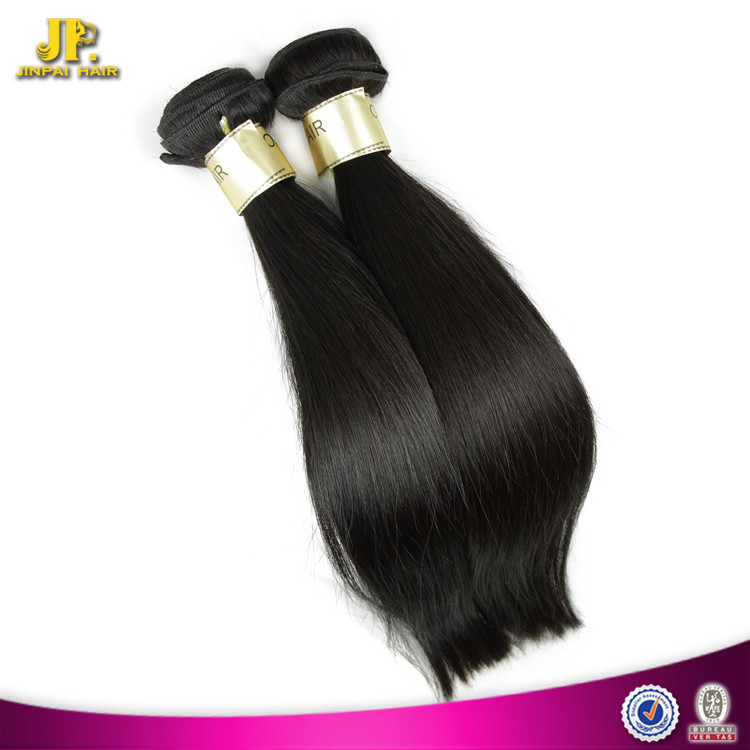 Silky Straight Easy To Dye And Perm Soft Cheap Virgin Peruvian Hair