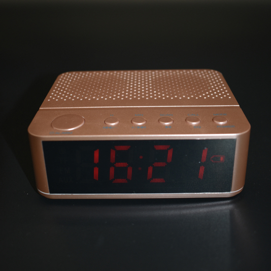 Factory manufacture various classical wireless alarm clock blue tooth <strong>speaker</strong>
