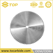 304 stainless steel furniture carbide circular saw blade, cemented carbide wire cutting blades