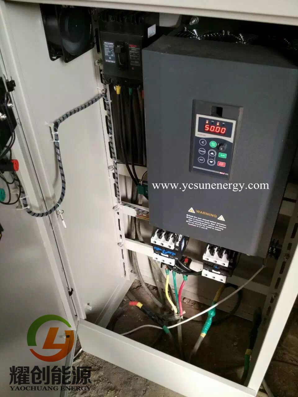 3 phase speed control variable frequency drive solar pump inverter 22Kw & 30Kw