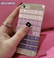 Bling Mobile Cases Jewelled Phone Cases Diamond Studded Phone Case For iPhone 7