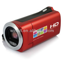 Cheap good quality 2.7 inch TFT LCD HD Digital video camera still hot sell HDV-828