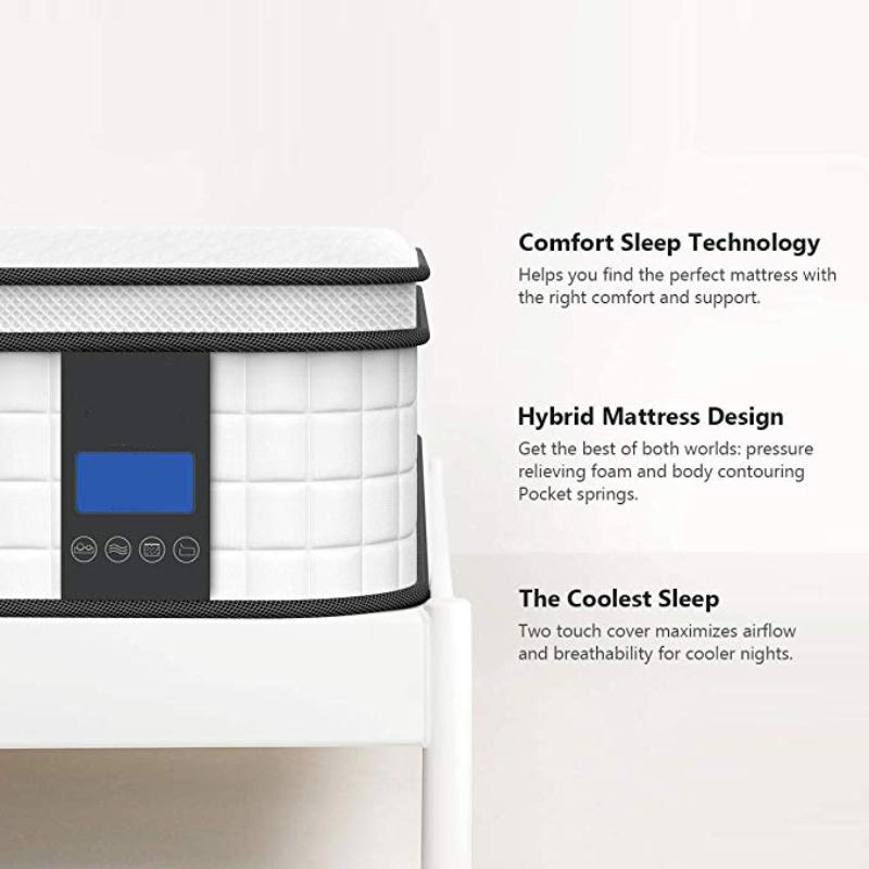 Pillow topper mattress Fold Mattress For Sofa Bed spring mattress Pocket Spring Memory Foam Mattress - Jozy Mattress | Jozy.net