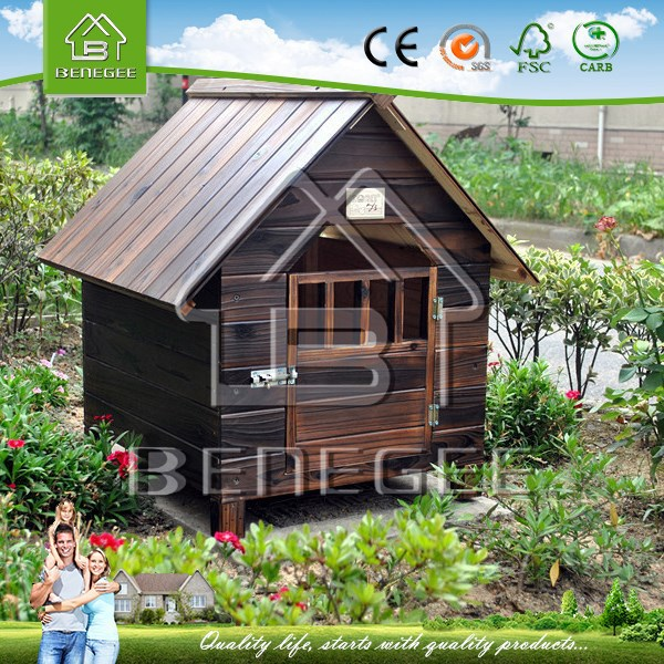 Wooden Dog House BWDG-3001